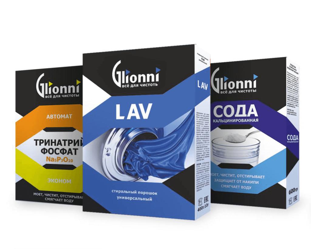 Фирменная упаковка Glionni