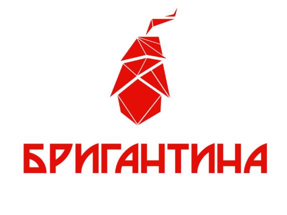 Логотип Бригантина